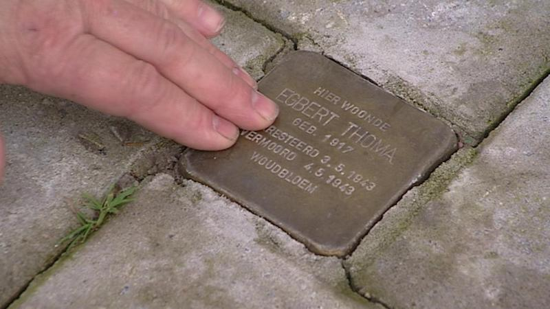 Stolpersteine Egbert Thoma De Verhalen van Groningen Demnig