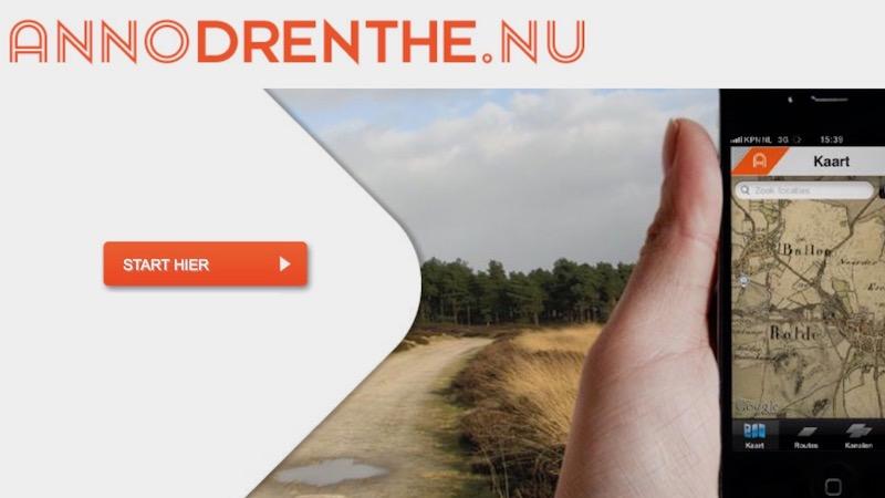 Drents archief route-app annodrenthe