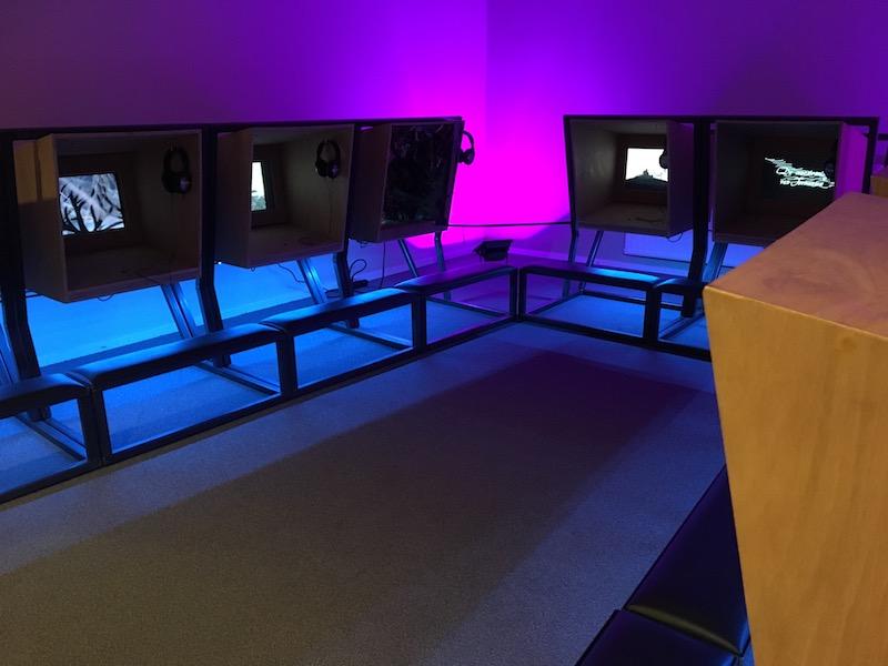 Spinbargpresentatie in Doe Museum Veendam